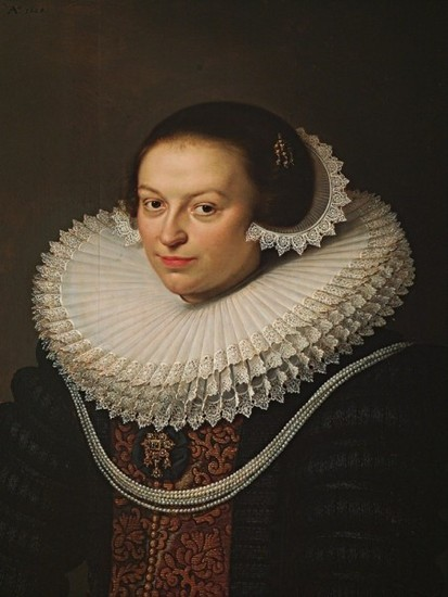 David Bailly: Johanna Visscher (1628)
