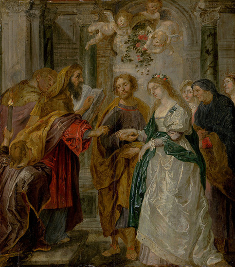 Peter Paul Rubens: The Betrothal of the Virgin Mary (1620/1630)