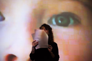 My Body's a Building or, The Living Glass of Speech: Reading and talk with Quinn Latimer and Anna Daučíková